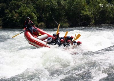 Short Water Rafting